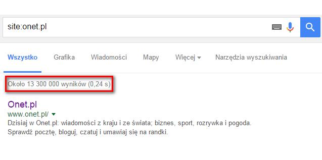 komenda site:domena.pl
