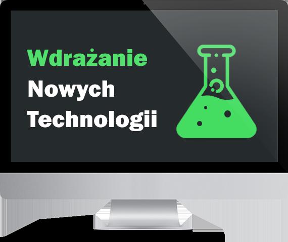 wdrażanie nowych technologii na strony internetowe