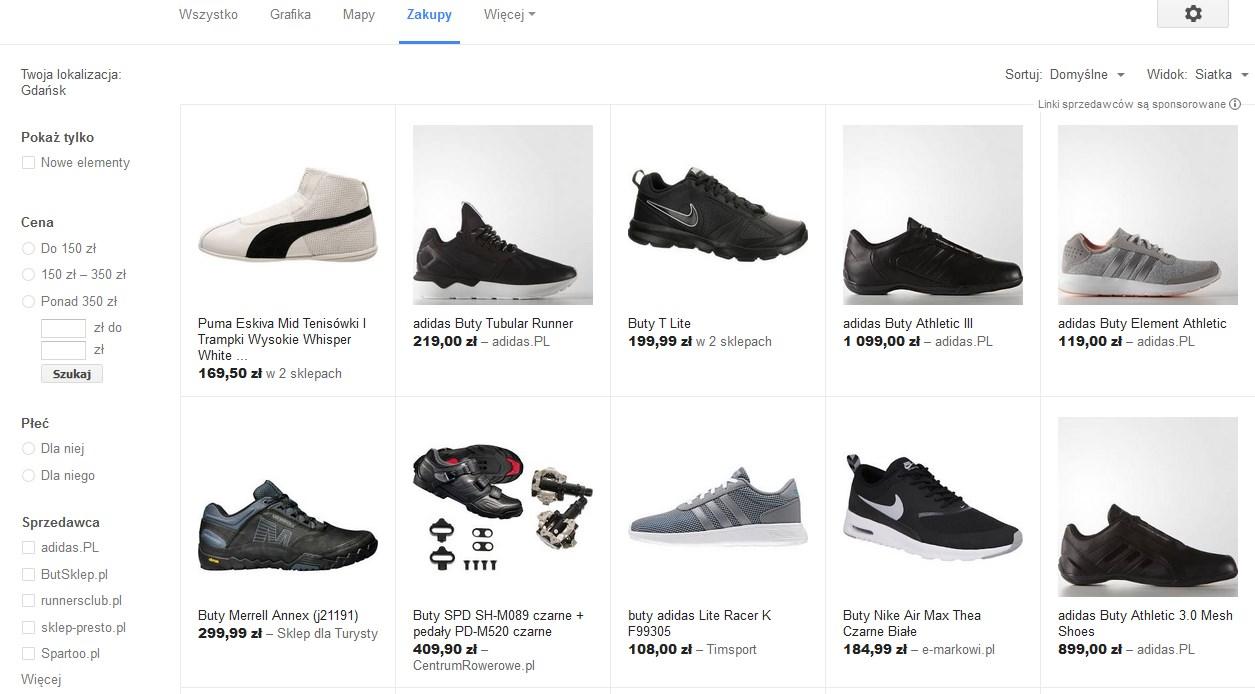 zakupy google serwis