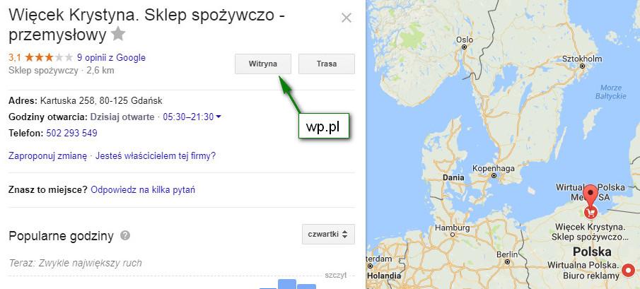 wirtualna polska a sklep spożywczy